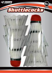 Triumph Sports USA™ 6-Pack Shuttlecocks