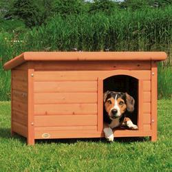 Trixie® Natura® Medium Dog Kennel with Flat Roof