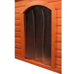 Trixie® Plastic Door for Small Dog Kennel with Gabled Roof
