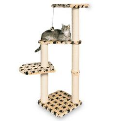 Trixie® Altea Beige Scratching Post with Paw Prints