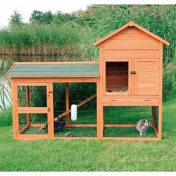Trixie® Natura® Small Animal Hutch with House Enclosure