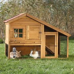 Trixie® Natura® Small Animal Hutch with Enclosure and Window