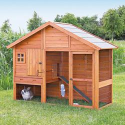 Trixie® Natura® Small Animal Hutch with Enclosed Room