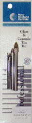 New England Carbide 4-Piece Single Tip Glass and Tile Drill Set
