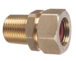 "1 1/4""Male Brass CSST Fitting"