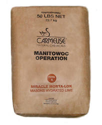 Carmeuse Type S Miracle Morta-Lok Masons Hydrated Lime - 50-lbs
