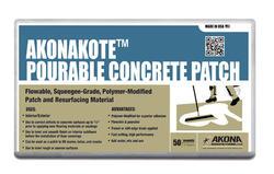 Akonakote™ Pourable Concrete Patch