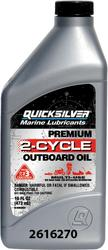 Mercury Quicksilver Premium 2-Cycle Outboard Oil (16 oz.)