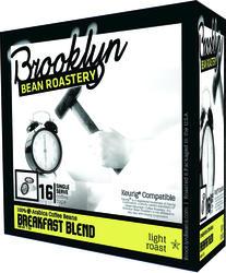 Brooklyn Bean Roastery Breakfast Blend Coffee - 16 ct.