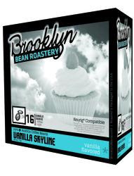 Brooklyn Bean Roastery Vanilla Skyline Coffee - 16 ct.