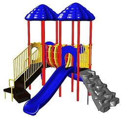 Ultra Play Signal Springs Commercial Playground In-Ground Footers Kit