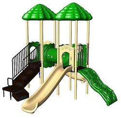 UPlay Today Deer Creek (Playful) Commercial Playset with Ground Spike