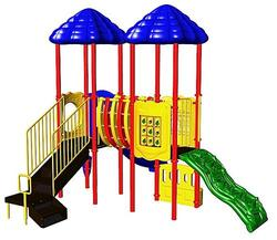 UPlay Today Clingman's Dome (Natural) Commercial Playset with Ground Spike