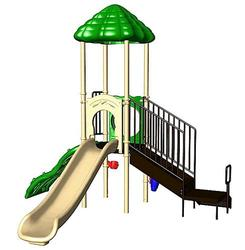 UltraPlay UP Start Single Deck Playsystem with Vine Climber