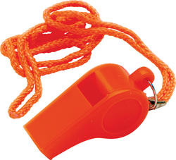 SeaSense® Orange Plastic Pea-Less Safety Whistle