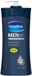 Vaseline Lotion Men's Fragrance Free