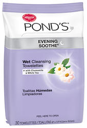 Ponds Towelettes Soothe 30 Count