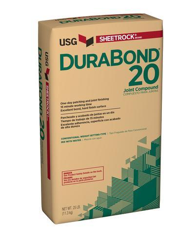 Sheetrock Durabond 20 Setting Type Joint Compound 25 Lb