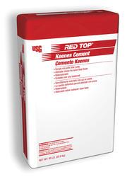 RED TOP Keenes Cement - 50-lb