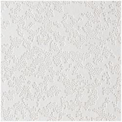 USG Lace 1' x 1' Class-C Wood Fiber Staple-Up Ceiling Tile Panel