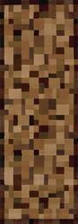 "United Weavers Ashland Collection Woven Tiles Area Rug 2'7"" x 7'4"""