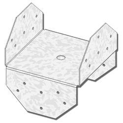 """USP Structural Connectors 8"""" x 8"""" Post Beam Cap"""