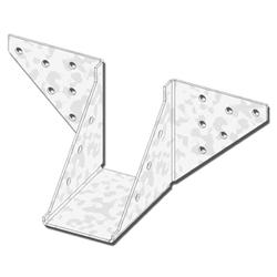 """USP Structural Connectors 2"""" x 4"""" Butterfly Hanger"""