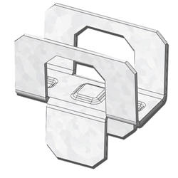 """USP Structural Connectors 1/2"""" Steel Plywood Clips - 25 ct."""