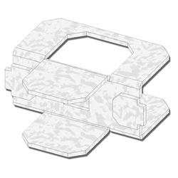 """USP Structural Connectors 3/4"""" Steel Plywood Clips - 250 ct."""