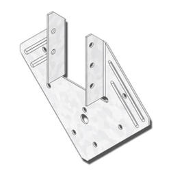 """USP Structural Connectors 5-1/4"""" x 1-9/16"""" Triple Zinc Rafter-to-Stud Hurricane/Seismic Anchor"""