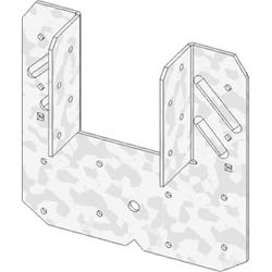 """USP Structural Connectors 6-1/2"""" x 6-1/2"""" Triple Zinc Rafter-to-Stud Hurricane/Seismic Anchor"""