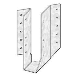 """USP Structural Connectors 2"""" x 8-10-12"""" Skewed Left 45 Degree Hanger"""