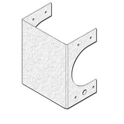 "USP Structural Connectors 4-9/16"" Stud Shoe (Triple Stud)"