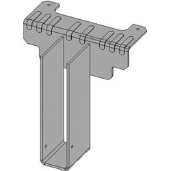"USP Structural Connectors 4"" x 8"" Welded Top Flange Hanger"