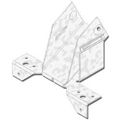 "USP Structural Connectors 1-3/4"" Rafter Width Adjustable Rafter-to-Plate Connector"