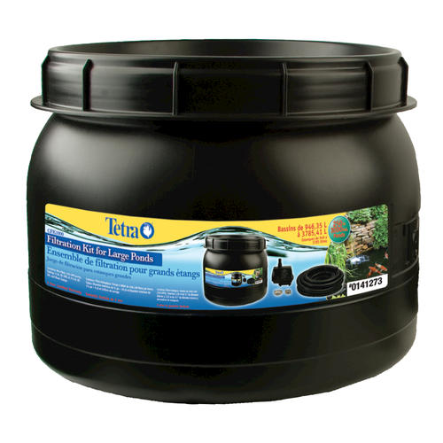 Tetra filter kit for large ponds for Large pond pumps and filters