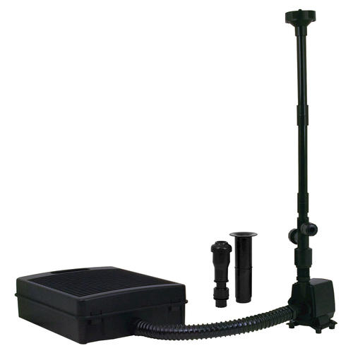 Tetra filter kit for small ponds at menards for Small fountain filter