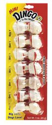 Dingo Mini Meat & Rawhide Chew Bones - 7-pk