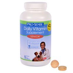 Pro-Sense Senior Dog Daily Vitamin Supplement - 90-ct