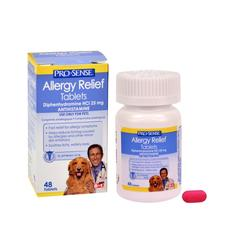 Pro-Sense Allergy Relief Tablets for Dogs - 48-ct