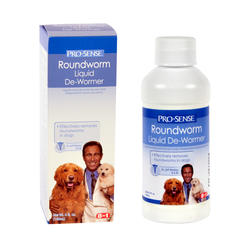 Pro-Sense Roundworm Liquid Dog De-Wormer - 4 oz