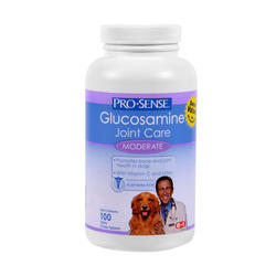 Pro-Sense Moderate Glucosamine Joint Care Dog Supplement - 100-ct