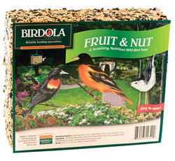Birdola Fruit & Nut Bird Seed Cake - 2 lb 7 oz