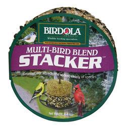 Birdola Stacker Multi-Bird Seed Cake - 6.4 oz