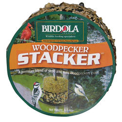 Birdola Stacker Woodpecker Bird Seed Cake - 6.5 oz