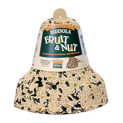 Birdola Fruit & Nut Bird Seed Bell - 16 oz
