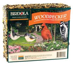 Birdola Woodpecker Bird Seed Cake - 2 lb