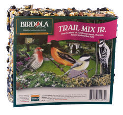 Birdola Trail Mix Jr. Bird Seed Cake - 6.9 oz