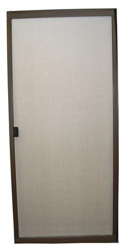 36 x 80 standard bronze aluminum replacement patio door for Patio screen door replacement
