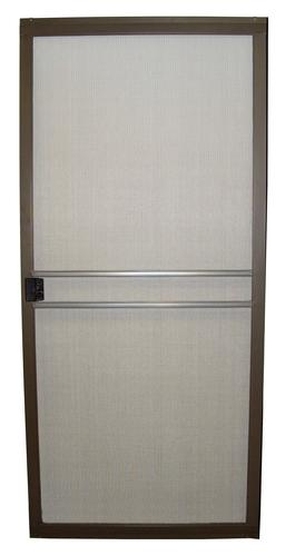 36 X 80 Premium Bronze Aluminum Replacement Patio Door Screen At